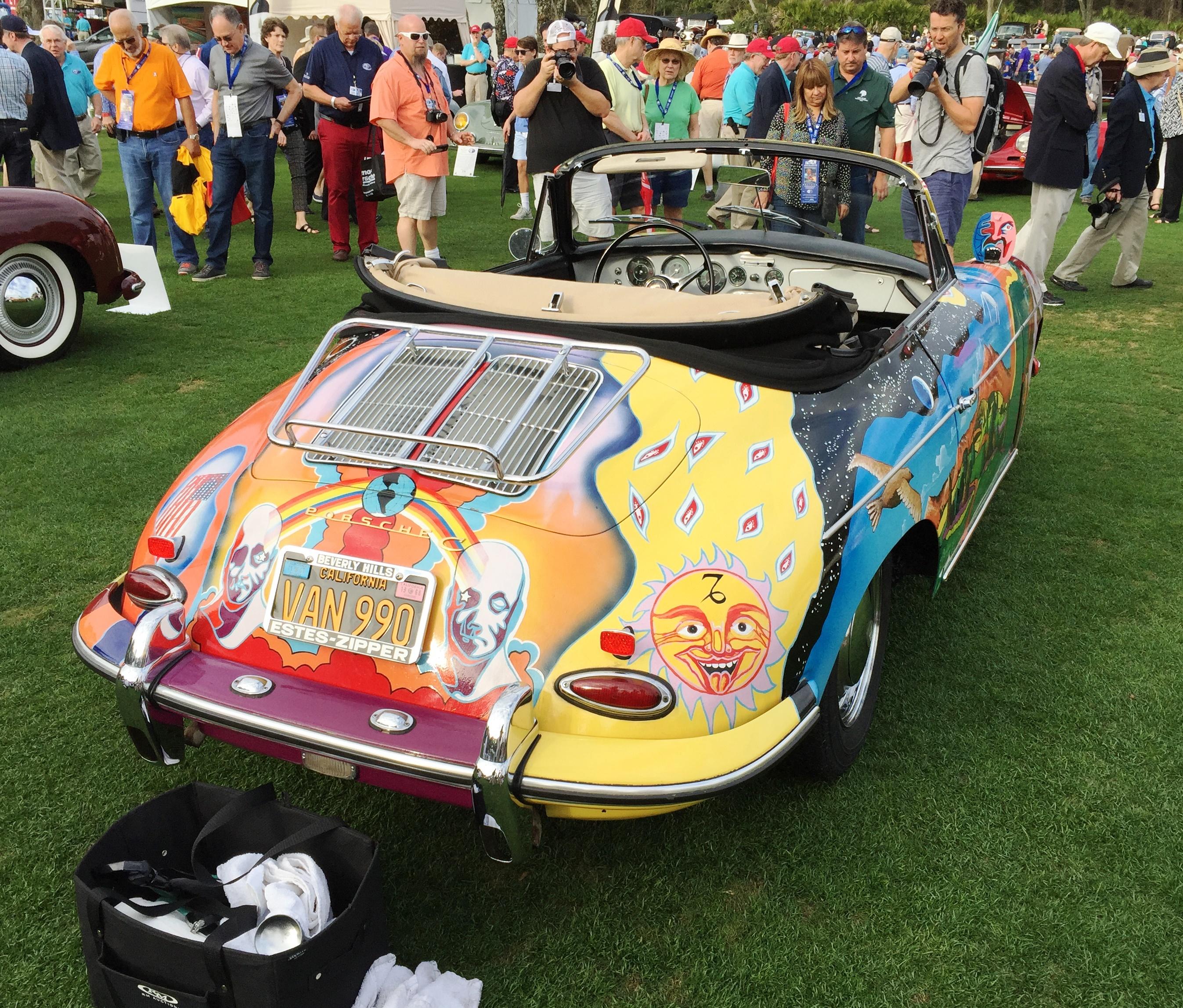 Janis Joplin's Porsche 356 - amelia island concours