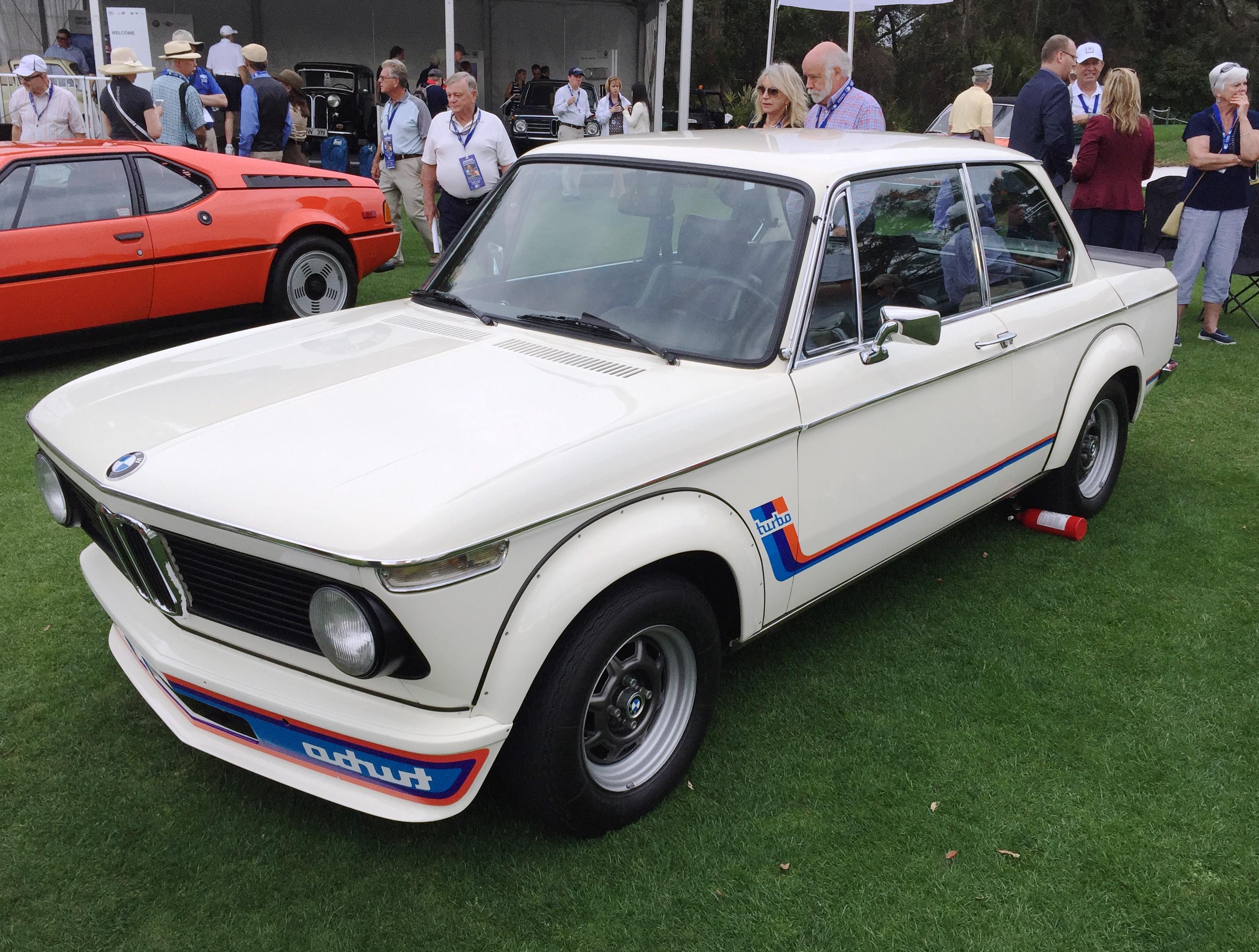 BMW 2002 turbo - amelia island concours